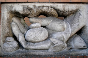 Loaves and Fishes statue