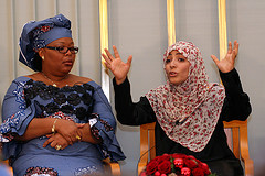 Photo:  Leymah Gbowee and Tawakkul Karman, courtesy of  aktivioslo via Creative Commons License